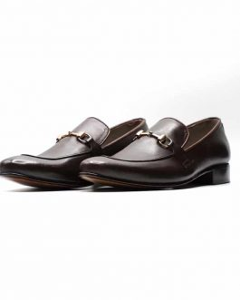 Brunette Buckle Loafer