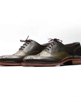 Camou Spectator Oxfords