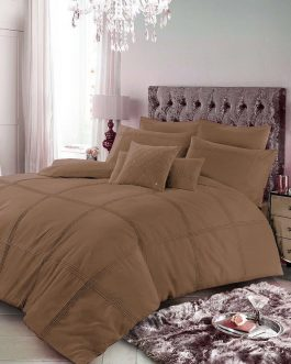 8 PCS Luxury Bed Set Pleated Design