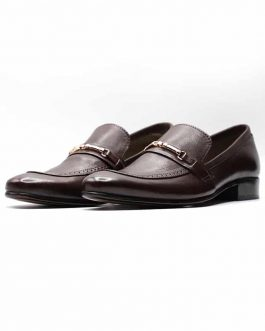Midnight Buckle Loafers