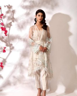 MORIEL by Shurooq Stitched Embroidered 3 Piece Suit