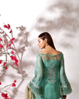 ALDORA by Shurooq Stitched Embroidered 3 Piece Suit