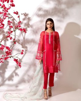LALEH by Shurooq Stitched Embroidered 3 Piece Suit