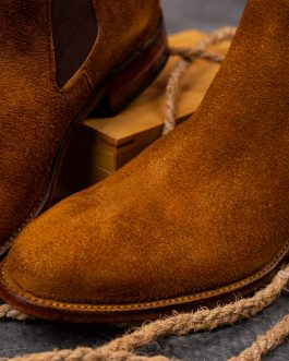 Tawny Suede Chelsea boots