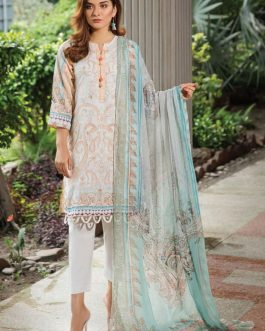 NHC-010 3PCs Luxury Lawn