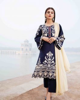 Bluebell 3PCs Stitched Lawn