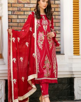 DH-012 – Embroidered Lawn Unstitched