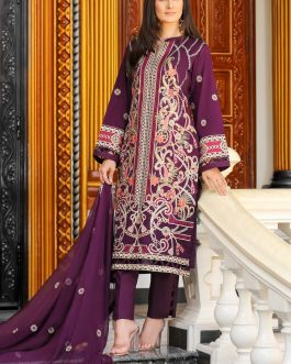 DH-014- Embroidered Lawn Unstitched