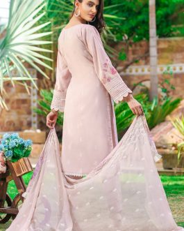 DH-015 – Embroidered Lawn Unstitched