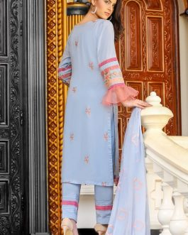 DH-017 – Embroidered Lawn Unstitched