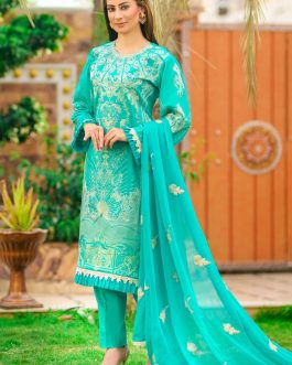 DH-018 – Embroidered Lawn Unstitched