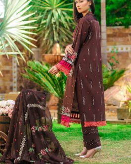 DH-019 – Embroidered Lawn Unstitched