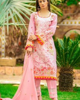 DH-020 – Embroidered Lawn Unstitched